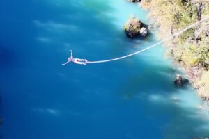 Bungee Jumping representing Inner Work as an Extreme Sport
